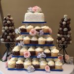 cake and truffles
